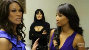 karrenn jarrett gail kim traci brooks boobs cycki piersi